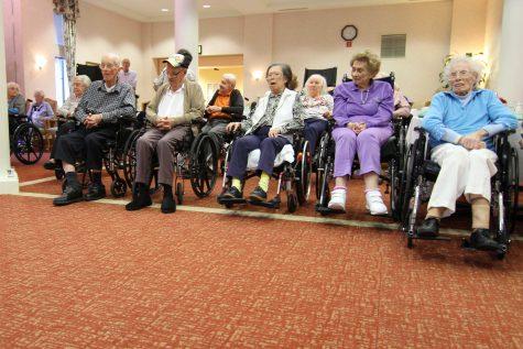 Tri-M holds first event at senior center