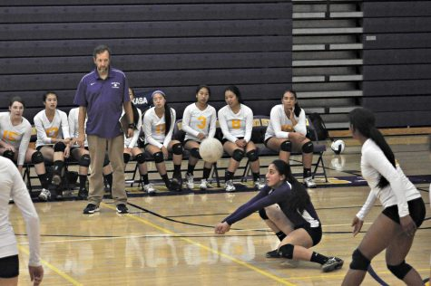 Girls volleyball: MVHS loses at home against Los Gatos 0-3