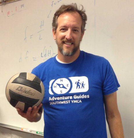 Coach's Corner: Girls volleyball coach Colin Anderson