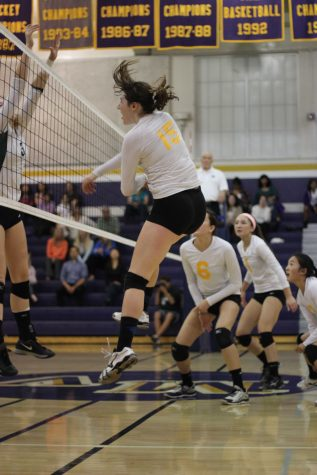 Girls volleyball: MVHS loses in three sets to a strong Homestead High School squad