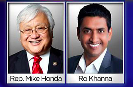 Mike Honda and Ro Khanna vied for a position in California's 17th congressional district. The result of the election ensued in reflection among MVHS students. Photo Source: Public Domain.