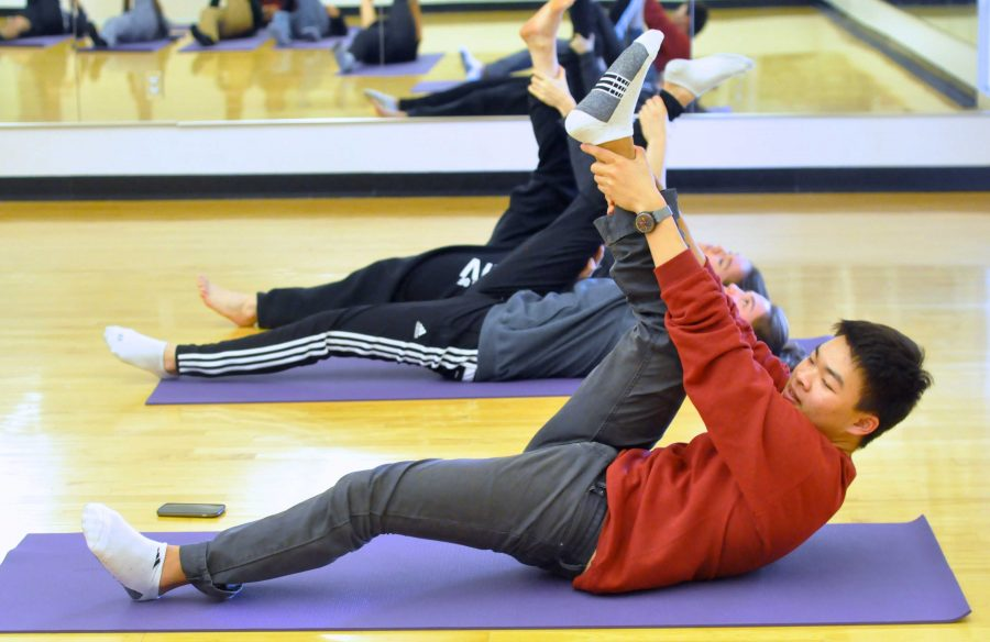 Yoga Club invites members to holiday themed stretches and snacks