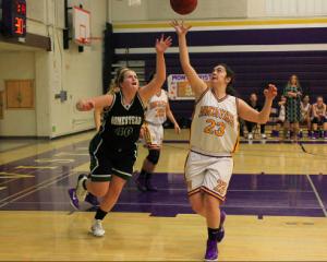 Girls basketball: MVHS defeats Homestead Mustangs 45-36