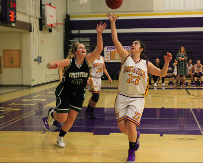 Girls basketball: MVHS defeats Homestead Mustangs 45-36