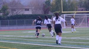 Girls soccer falls to Gunn High School 2-0