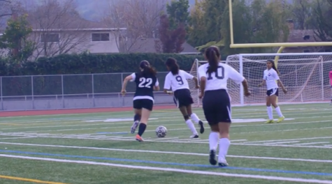 Girls soccer falls to Gunn High School 2-0
