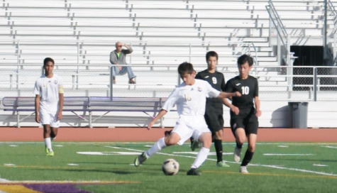 Game GIFs: Boys soccer vs. Evergreen Valley HS