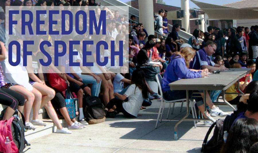 First Amendment Challenge: Freedom of speech