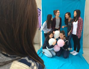 MVHS students capture memories at Design It Polaroid Fundraiser