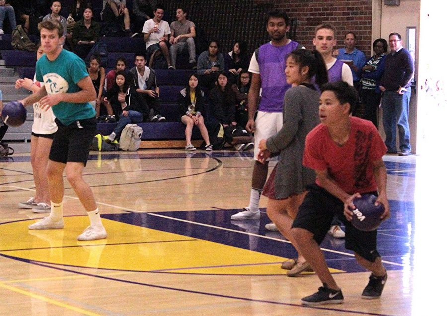 Students+win+in+the+student-teacher+dodgeball+game+for+Celebration+Week
