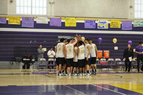 Boys volleyball: Matadors take a break to celebrate senior night