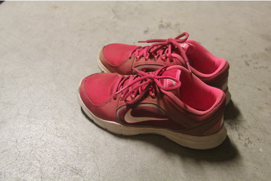 It has been one year since she's last used her running shoes. For her, this is a milestone, a sign that she's letting herself relinquish control.