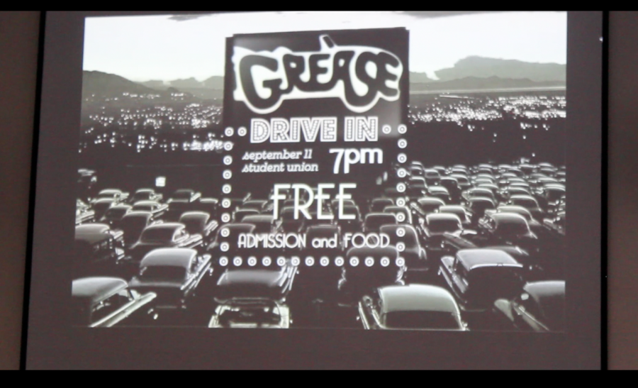 Class of 2017 hosts a Grease movie night to promote Homecoming