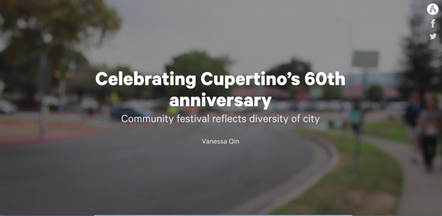 Celebrating Cupertino's 60th anniversary: community festival reflects diversity of city