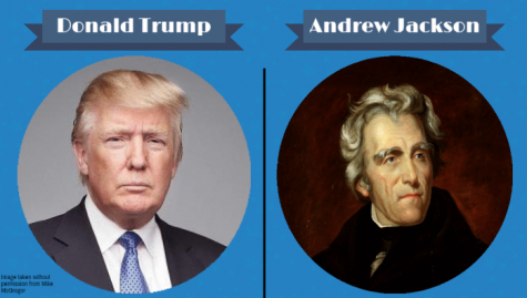 Comparing and contrasting Donald Trump with Andrew Jackson