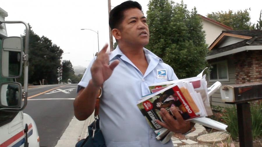 Behind the scenes: mailman Reynaldo Ramos' daily route
