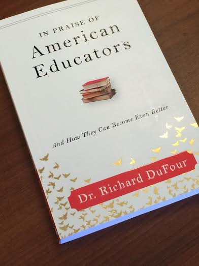 Dr. Richard DuFour is the professor who first started the idea of a PLC group. His book, The American Educator, is a popular resource material. Photo by Jessica Xing