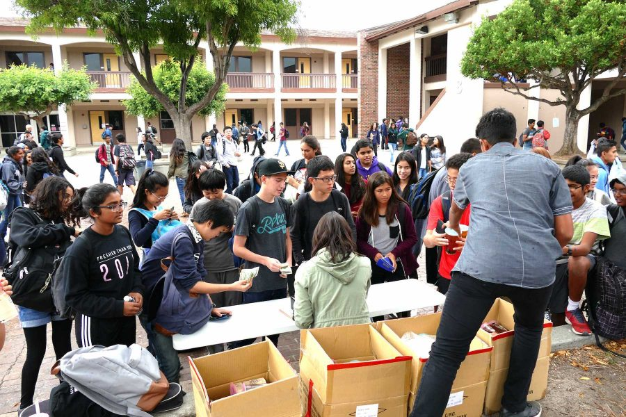 Fundraisers more prevalent on school campus