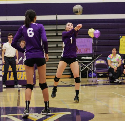 Girls volleyball: Victory at senior night confirms undefeated league record