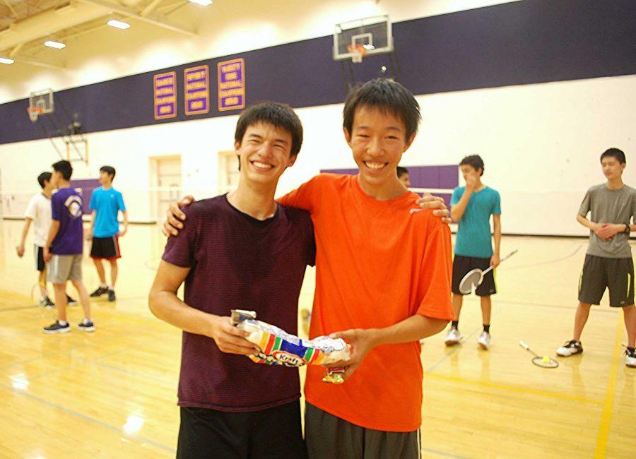 Badminton Club's Halloween Mini-Tourney