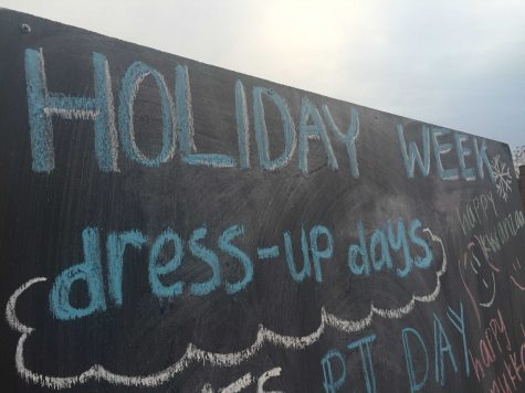 Campus Question: What is Holiday Week?