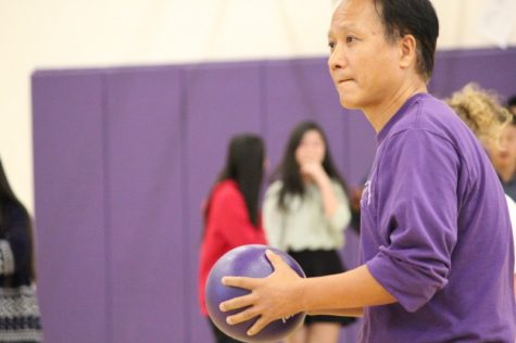 Dodgeball tournament between service clubs fosters healthy competition