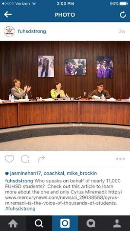 Breaking Convention: FUHSD Instagram and Twitter accounts reach out to students