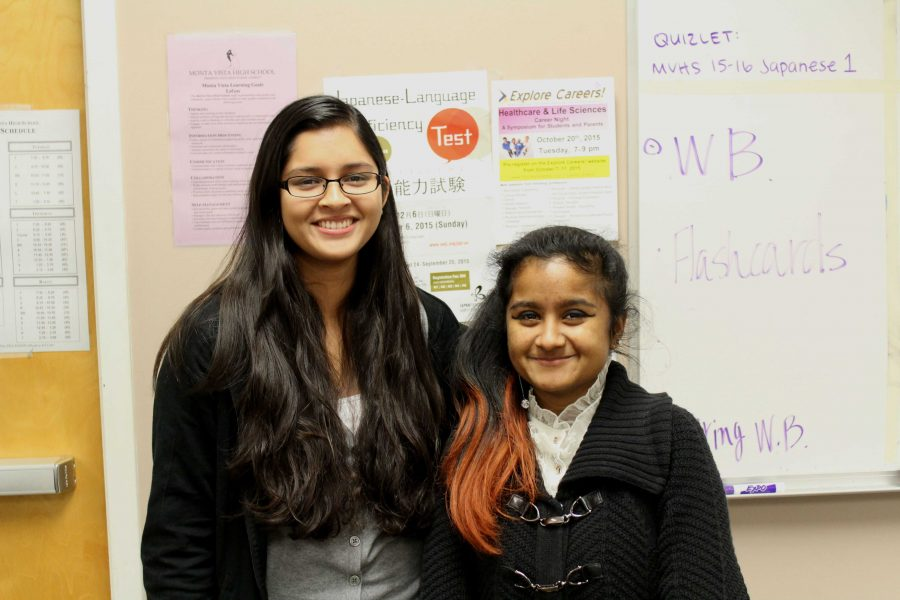 Q&A: Seniors Apanuba Mahmood and Kristina Paul discuss Japanese National Honors Society's goals