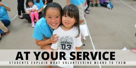 At your service: Students share their experiences volunteering