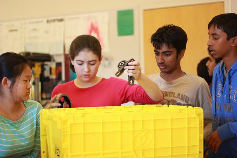 What's been going on during Robotics training week?