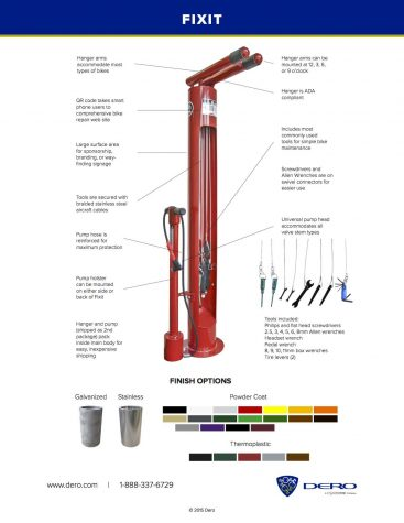 Biken Club takes its first steps to install a bike repair stand on campus