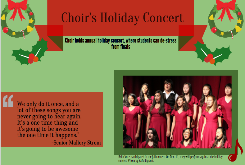 Get in the holiday spirit with MV Choir's Holiday Concert