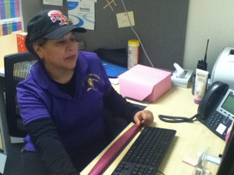 Book club: food services manager Debbie Herrera uses books to teach life lessons