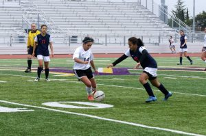 Girls soccer: Team dominates Lynbrook HS 2-0