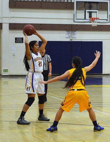 Girls basketball: Team clinches senior night victory against Milpitas HS