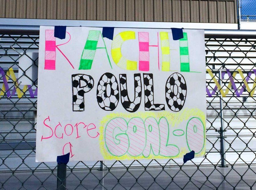 Girls+soccer+senior+night%3A+Senior+Rachel+Poulo