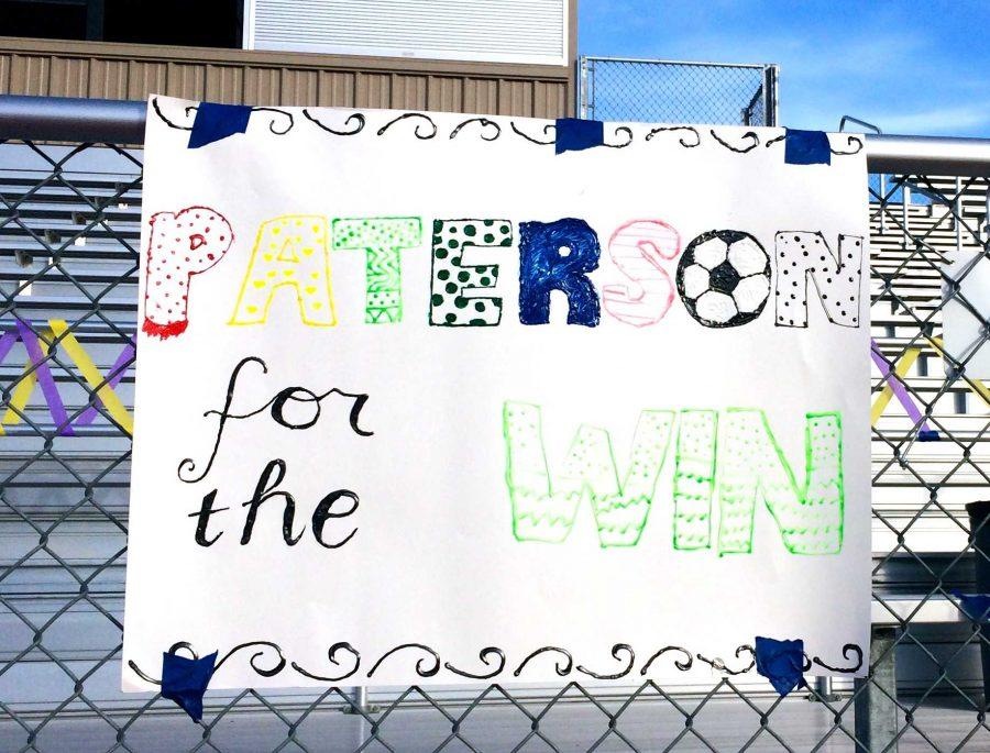 Girls soccer senior night: Senior Alissa Paterson