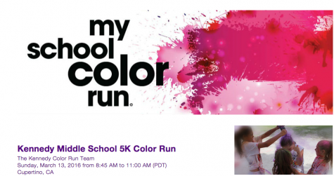 Kennedy Middle School to hold 5k color run for Cupertino families
