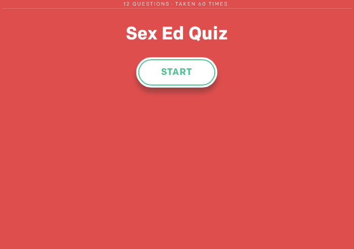 How much do you really know about sex?