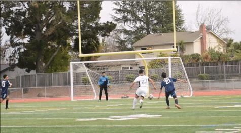 Game GIFs: Boys soccer achieves 2-0 win against Lynbrook HS