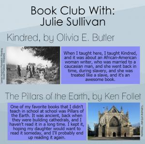 Book Club: Physical Education teacher Julie Sullivan talks about her favorite novels
