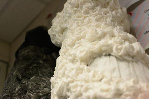A closer look: Literature teacher Sara Borelli's paper dresses