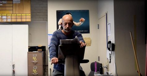 The man on the elliptical: Paraeducator Tim Deegan's seventeen years at MVHS