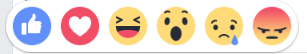Students react to Facebook's new reactions