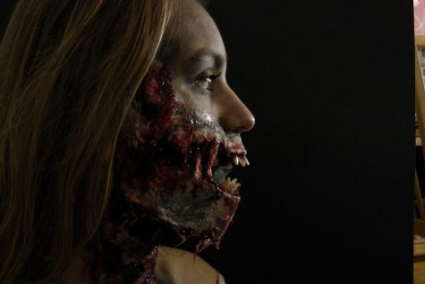 Made up of makeup: using special effects makeup as an art form