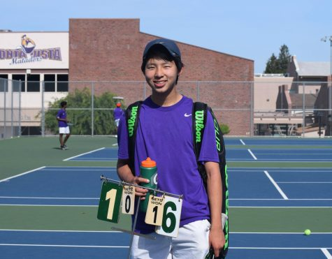 Boys tennis: Team defeats Carmel HS 6-1 in final home game