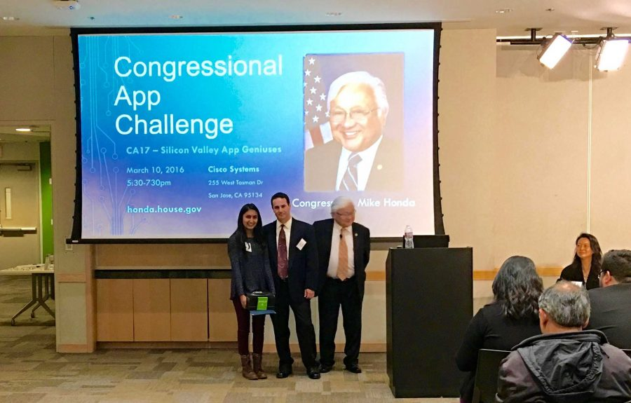Sophomore Aarushi Shah wins 17th annual Congressional App Challenge for app, 'DreamBuckt'