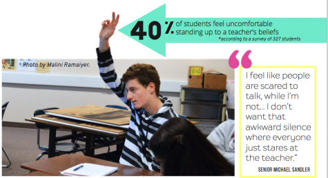 Hands up: how teacher's and student's beliefs influence the classroom