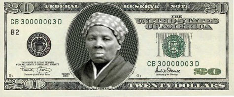 Harriet Tubman on the twenty-dollar bill