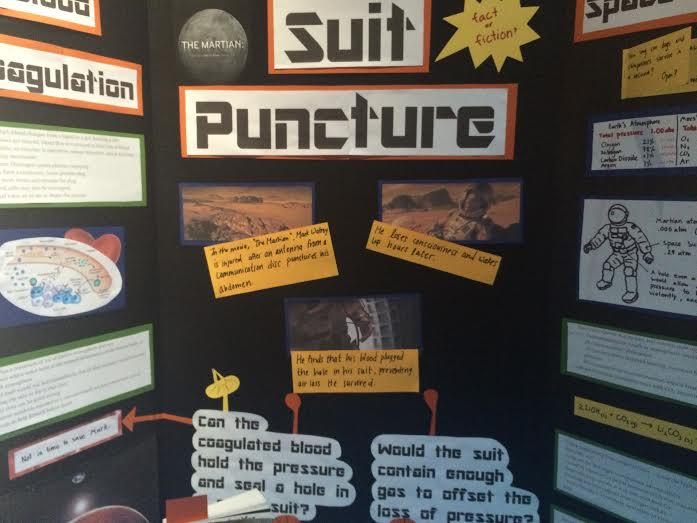 AP Chemistry: Blood coagulation and partial pressure in The Martian —  Fact or Fiction?